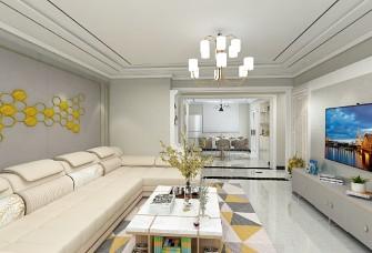 万庄社区128平三室两厅一厨一卫现代简约