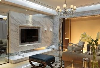 89平方一居室现代奢华风