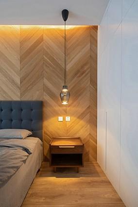 150㎡现代风,许你来日方长卧室现代简约设计图片赏析