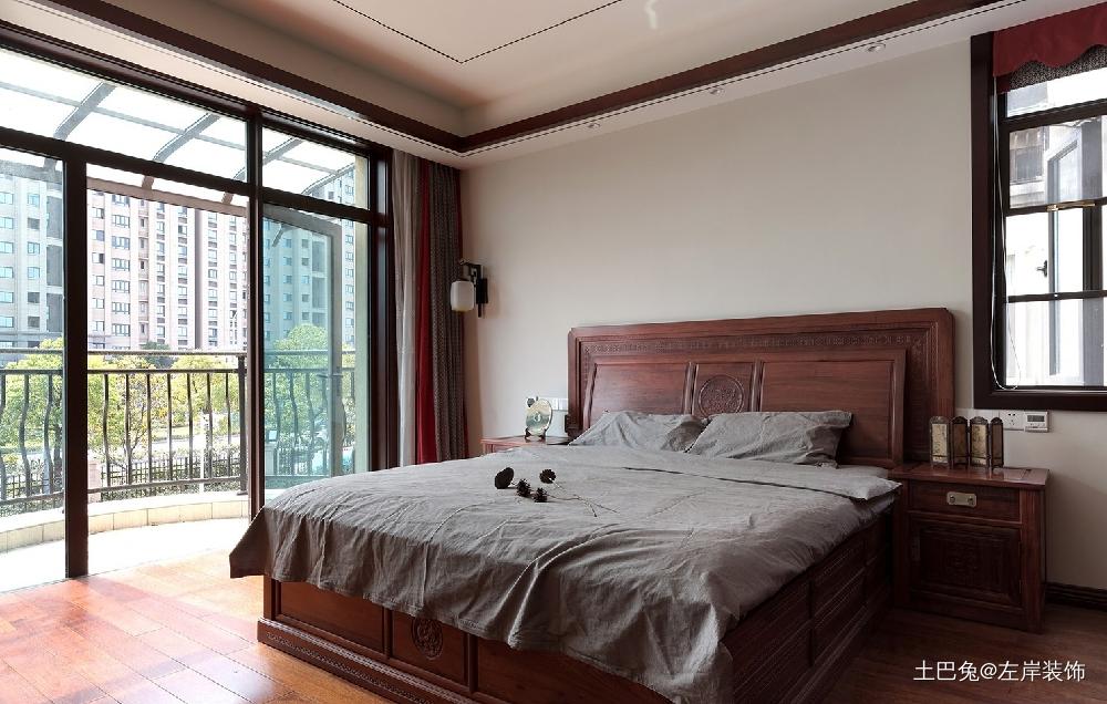 260平方中式风格设计红木家具搭配设计卧室中式现代卧室设计图片赏析