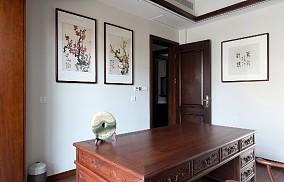 260平方中式风格设计红木家具搭配设计功能区设计图片赏析