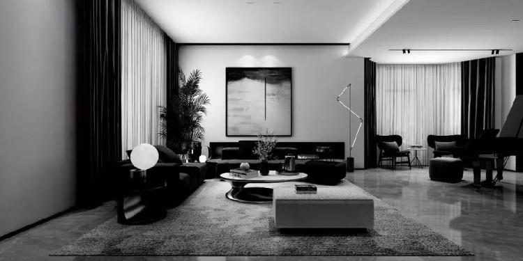 南郊別墅室內裝飾工程
