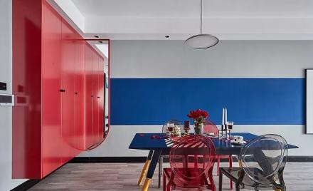 孟菲斯风格,35万打造的两居室厨房2图