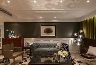 低奢华丽,115平三居室的简欧范