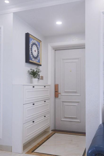 壹城中心110平方简欧风格装修案例玄关