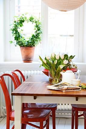 小清新的空间,独有的天地餐厅现代简约设计图片赏析