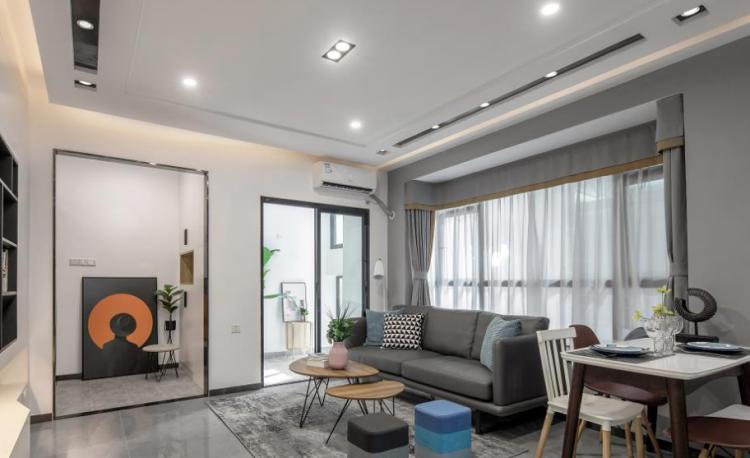 三居室小60平房子裝修設計