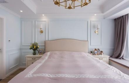 唯美二居室89平米9万卧室
