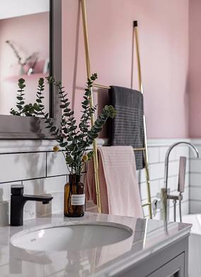 北欧风格,30万打造的三居室卫生间北欧极简设计图片赏析