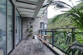现代简约3室1厅,打造一个时尚小窝阳台现代简约设计图片赏析