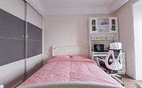 现代简约三居室126平米卧室现代简约设计图片赏析