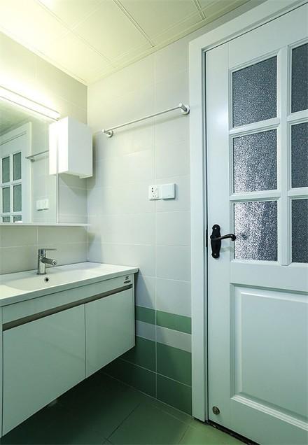 65平二居室北欧风格的新家卫生间