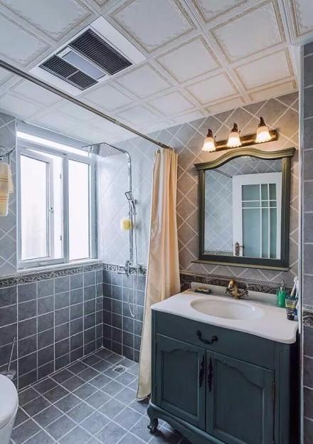 平温馨地中海风情婚房舍弃一房扩大客厅卫生间