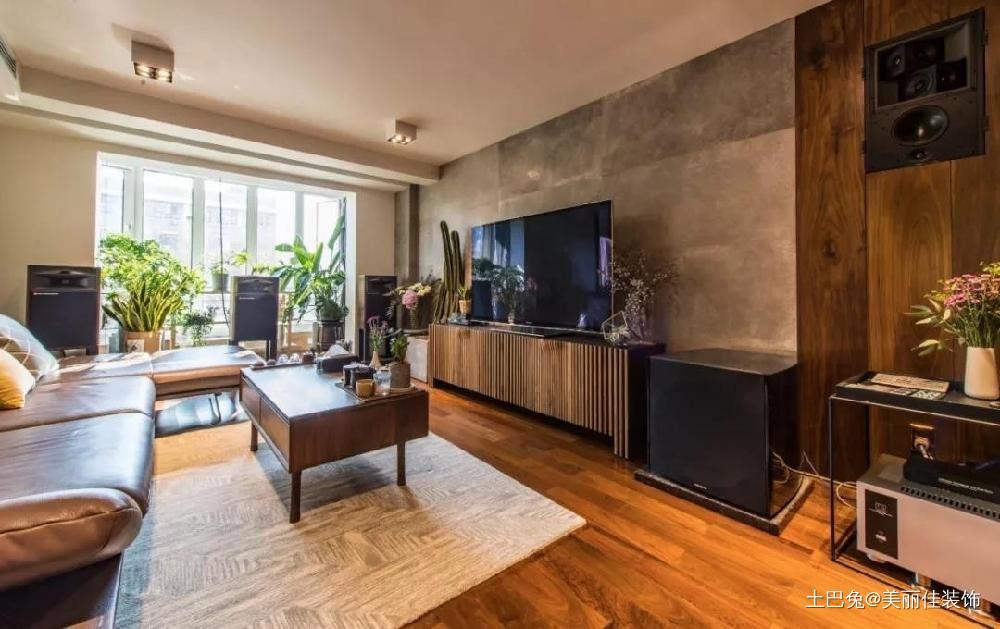 10年老房大改造换来40m²开阔空间!客厅窗帘现代简约客厅设计图片赏析