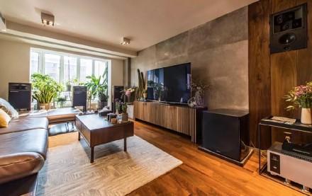 10年老房大改造,换来40m²开阔空间!客厅