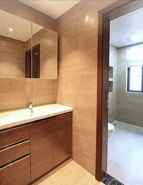 150平米的四居室,中式风格卫生间中式现代设计图片赏析