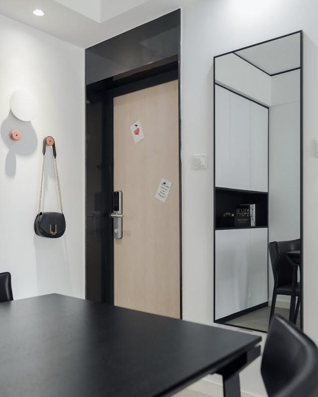 60平方两居室现代简约风格装修