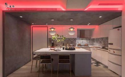 打破常规,115㎡现代风格住宅厨房