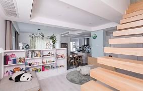 惬意的北欧风复式装修,楼梯设计人人都心动12511853