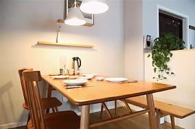 111㎡现代北欧,轻松闲适的家厨房北欧极简设计图片赏析