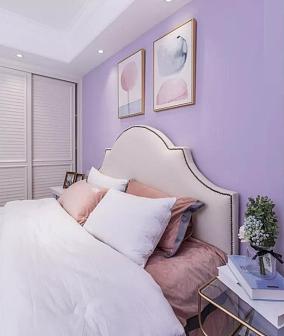 130㎡美式风格,海滨花园卧室美式经典设计图片赏析