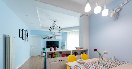 二居室80平方米:欧式豪华厨房