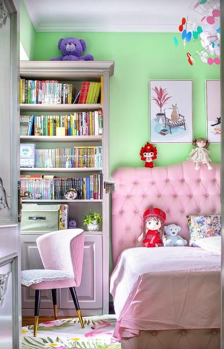 100平方细致+温暖+复古调时尚卧室