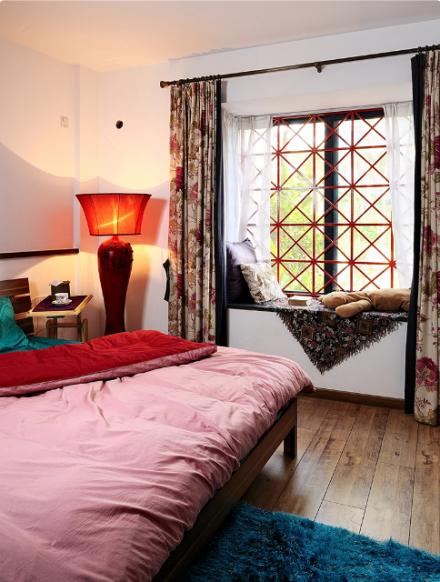 三居室100平方米风格:中式风格卧室