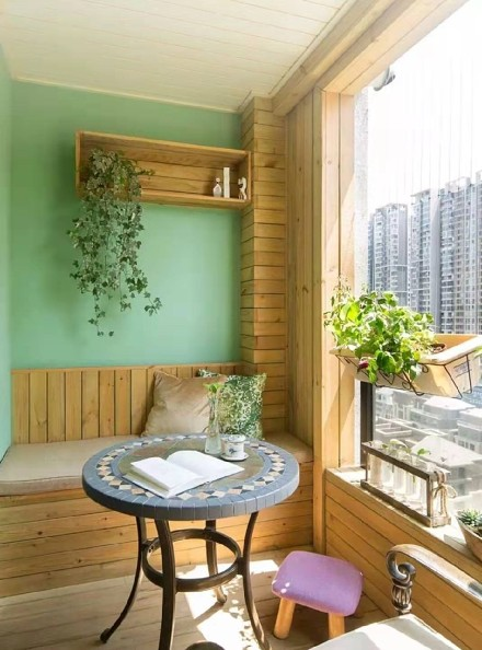 180平米的三居室,美式阳台