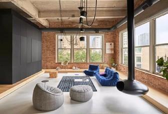 100平米+现代简约+三居室