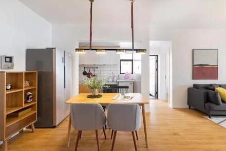 77㎡小户型设计,宁静安逸的品质家居!厨房