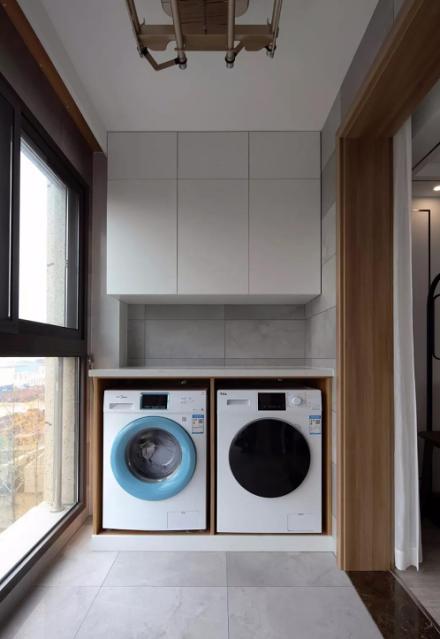 120㎡现代新中式风,设计带来品质生活阳台