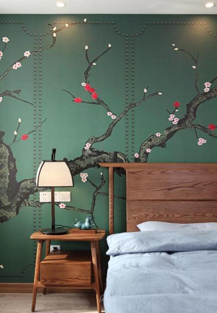 120㎡现代新中式风,设计带来品质生活卧室