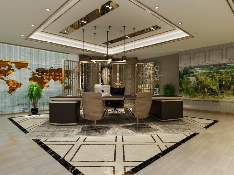 2300平东莞办公室装修设计-现代风格