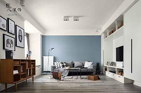 88平现代三居室,温馨简单的家12733948