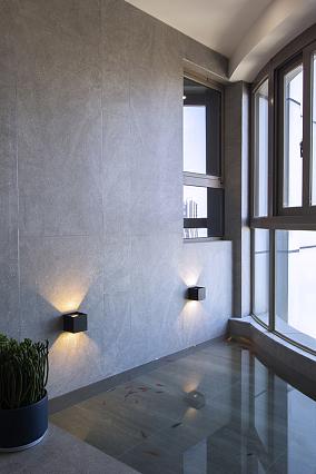 280方现代轻奢江景房阳台美式经典设计图片赏析