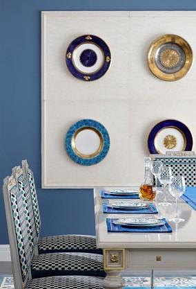 灰与篮看得见风度的房间厨房1图欧式豪华设计图片赏析