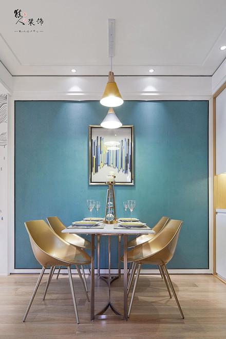 100平三居室波普艺术,都市动感生活厨房