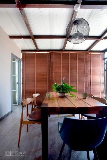 127㎡美式风格,被安慰过后的舒适放松厨房