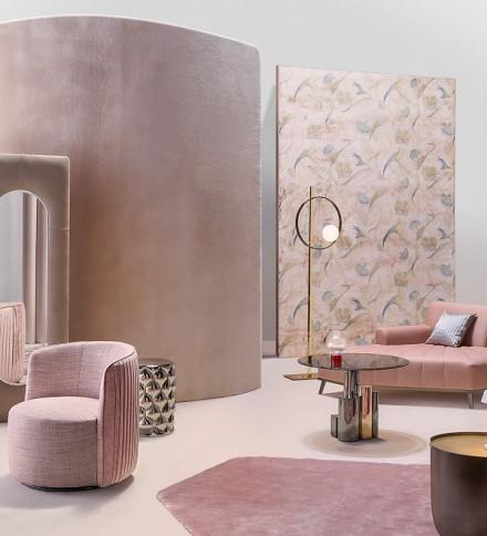 现代风格+80平方+2居室功能区