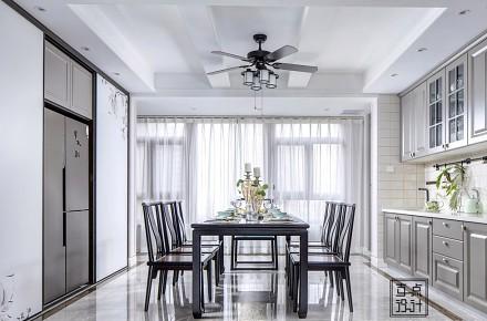 180平中式:举杯邀明月,对影成三人厨房