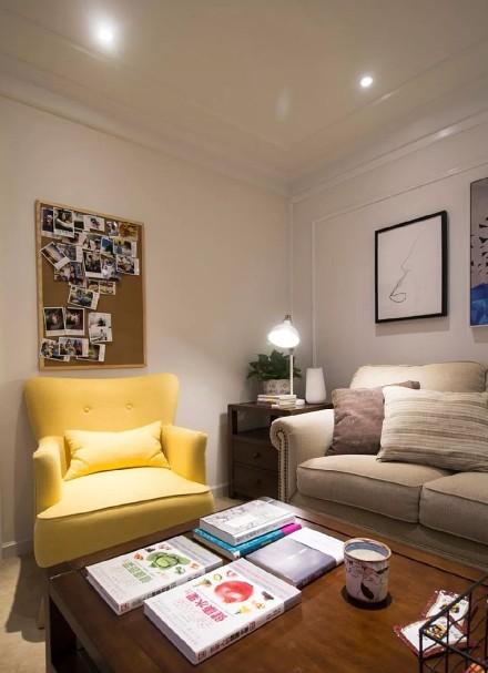 83㎡的现代简约,神奇书房改造客厅