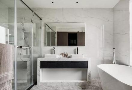 260平方现代简约风格装修设计卫生间