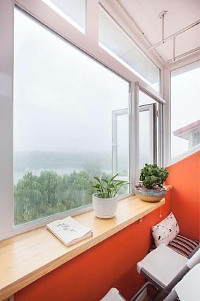 单层32平米蜗居改造阳台北欧极简设计图片赏析