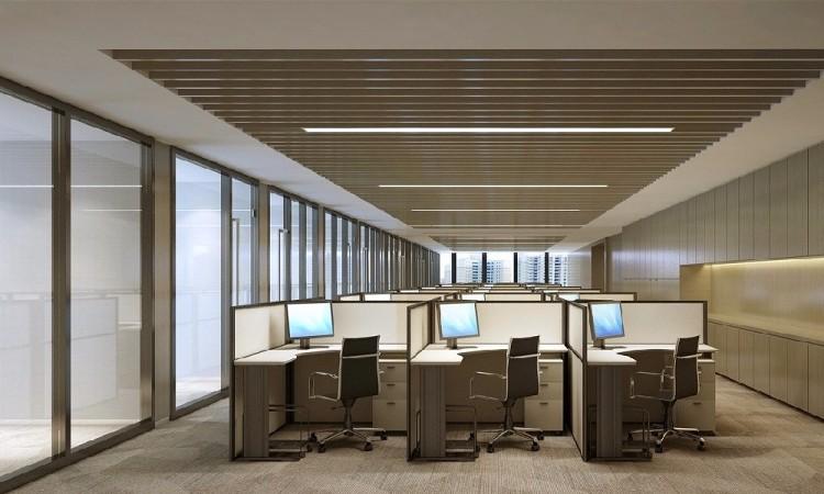 办公室装修设计·高级暖色