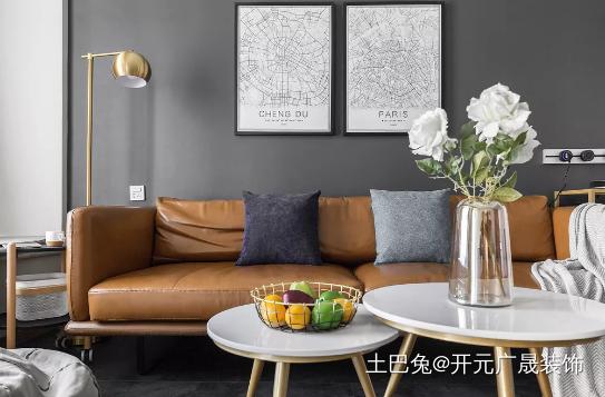 100㎡现代风格随时可变的空间设计客厅其他客厅设计图片赏析