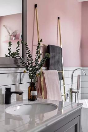 颜值高收纳好有格调100平年轻时尚两室卫生间北欧极简设计图片赏析