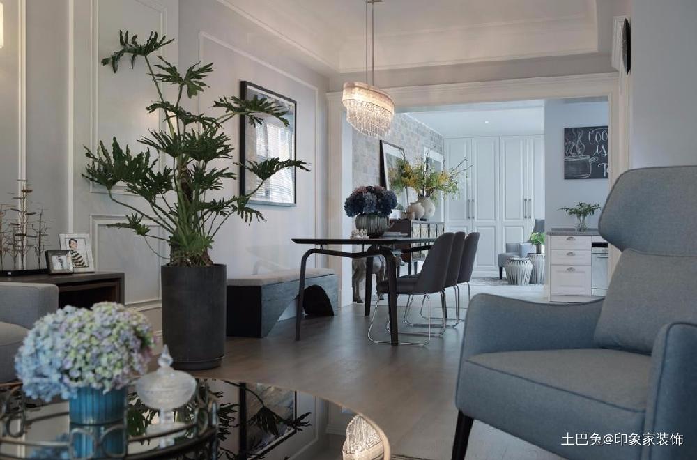 133m²简约风小资情调美的一塌糊涂客厅现代简约客厅设计图片赏析