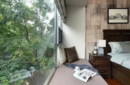 142平美式风、家具复古考究尽显格调!卧室