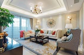 98㎡三室一厅的雅致美式风格之家13242675